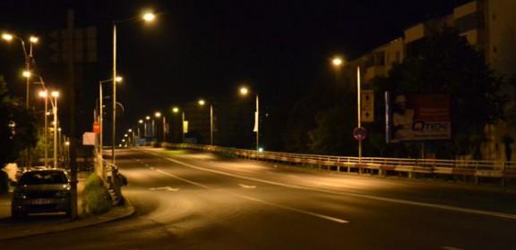 Bacau, noaptea, Podul Narcisa