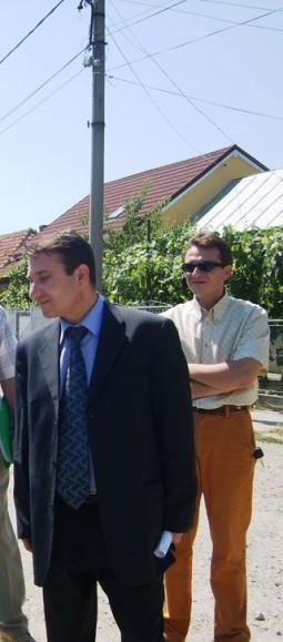 Romeo Stavarache si Ionut Tomescu