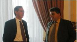 ambasadorul SUA si Gabriel Stan