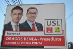 Dragos Benea si Victor Ponta