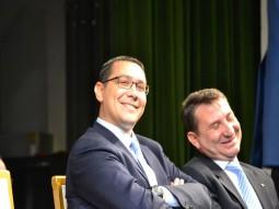Victor Ponta si Romeo Stavarache
