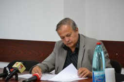 Adrian Cotarlet, directorul Spitalului Moinesti