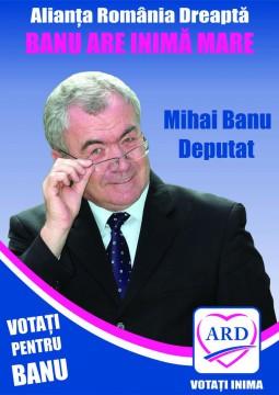 afis Mihai Banu