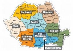 Romania-regiuni