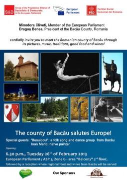 Bacaul saluta Europa