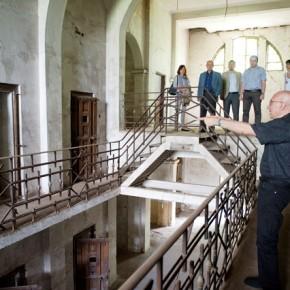 Radu Ioanid, in vizita la Ramnicu Sarat (1)