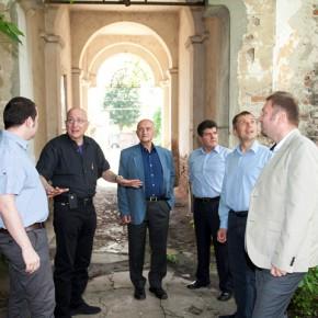 Radu Ioanid, in vizita la Ramnicu Sarat (2)