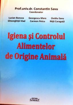 """""""Igiena si controlul alimentelor de origine animala"""" (2)"""