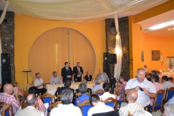 Partidul Miscarea Populara -intalnire cu simpatizantii in Bacau (1)