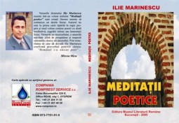 Meditatii poetice de Ilie Marinescu (3)