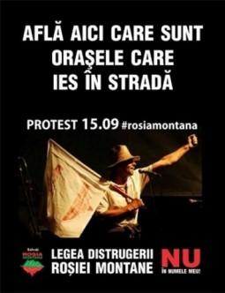 Proteste 15 septembrie-Rosia Montana (2)
