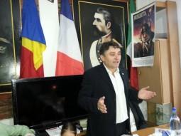 Vasile Botomei la ceremonia de sfintire