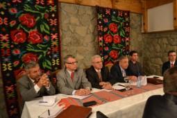 Liderii PDS la o intalnire la Hanul Razesilor in 2013