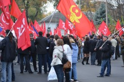 Manifestatie comunista in Chisinau (6)