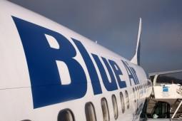 Blue Air a operat in ultimii ani pe Aeroportul Bacau
