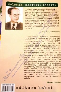 "Marturisirile unui ""criminal politic"",  (2)"