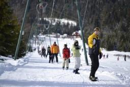 Partie de schi de la Bucsin (1)
