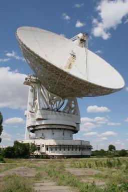 RT-70 radio telescop  Centrul spatial Yevpatoria din Crimea