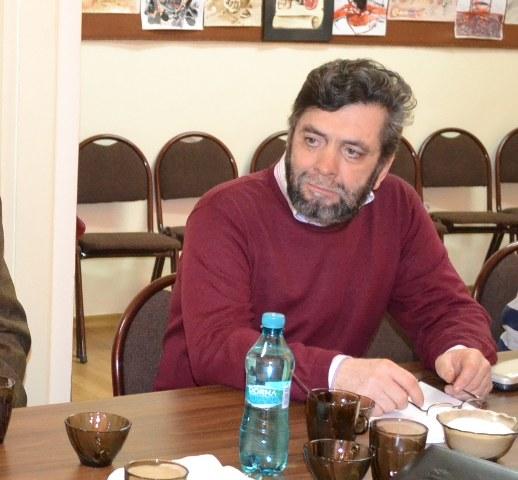 Vasile Agop, Uniunea Armenilor din Romania, Filiala Bacau