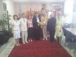Vasile Botomei, Honoris Causa la Chisinau