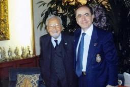 Licio Gelli impreuna cu Bartolomeu Savoiu