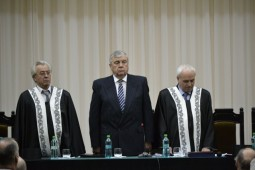 Mircea Snegur, doctor honoris causa UTM
