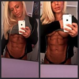 Ramona Arseni,abdomen sexy