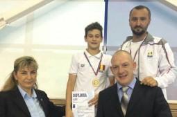 impreuna cu sefii federatiei de natatie