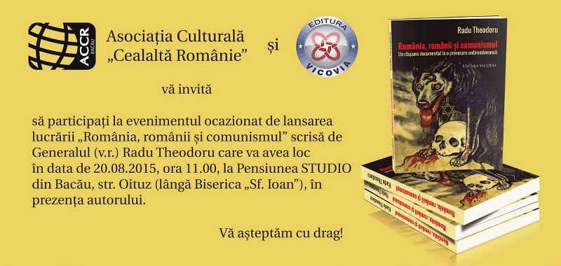 Invitatie lansare de carte Radu Theodoru