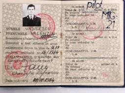 Valentin Vasilescu, pilot MIG21