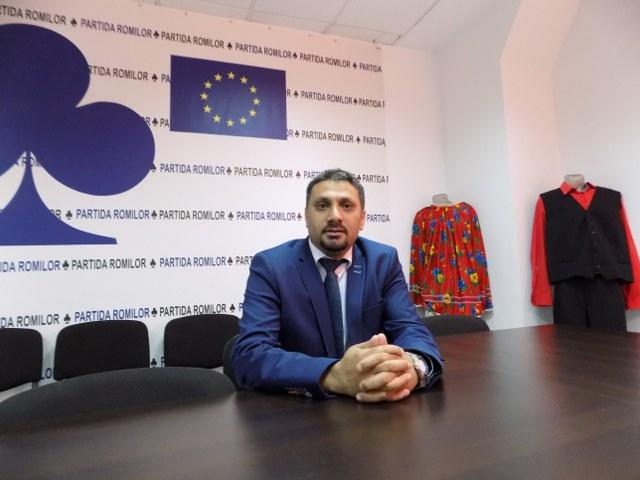 Florin Dura, presedintele Partida Romilor