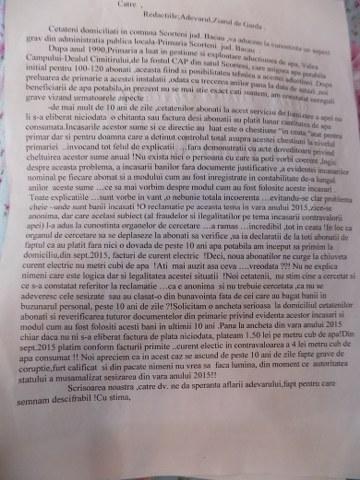 scrisoare catre ziaruldegarda.ro