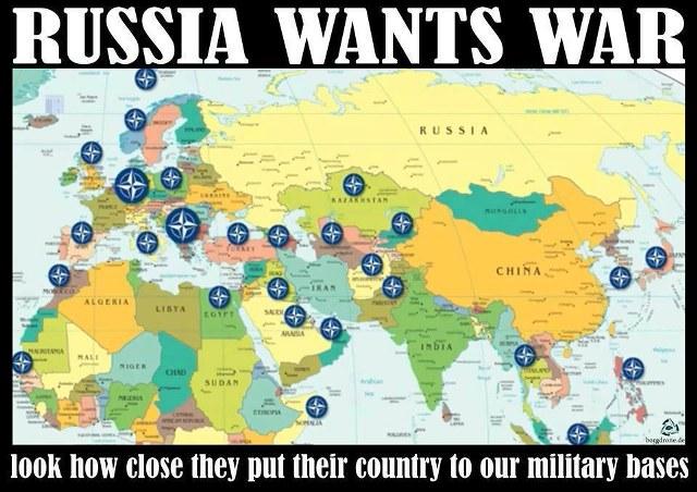 rusia inconjurata de nato