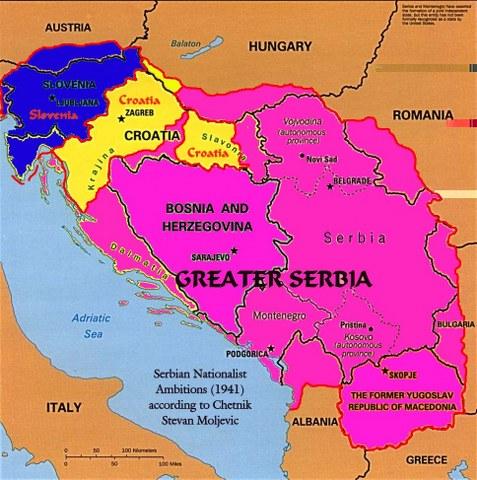 marea Serbie