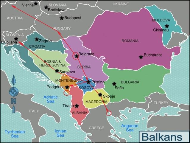 tari Balcani