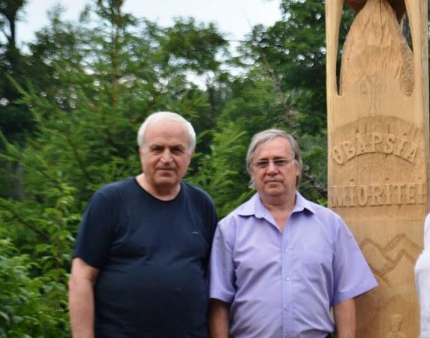 Academicienii Ion Bostan si Nicolae Dabija